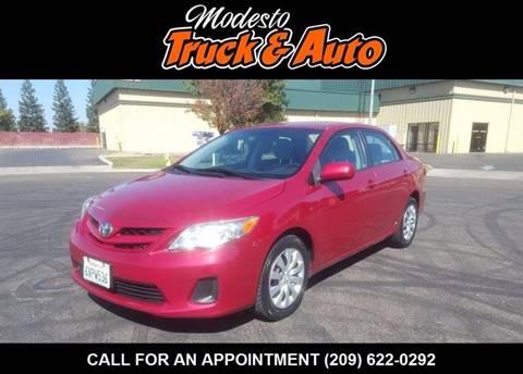 2012 Toyota Corolla for sale in Modesto, CA