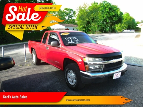 Chevrolet Colorado For Sale In London Ky Carl S Auto Sales