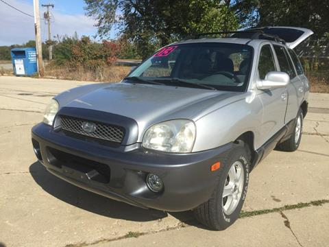 2003 Hyundai Santa Fe for sale in Newark, IL