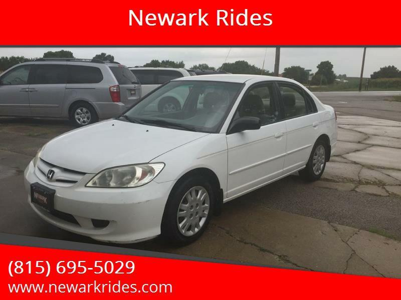 2005 Honda Civic For Sale At Newark Rides In Newark IL