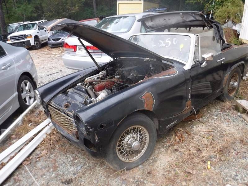 Mg midget part used