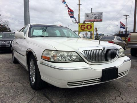 2008 Lincoln Town Car for sale in San Antonio, TX