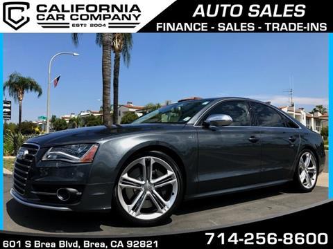 2013 Audi S8 for sale in Brea, CA