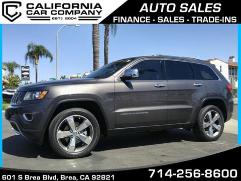 2014 Jeep Grand Cherokee for sale in Brea, CA