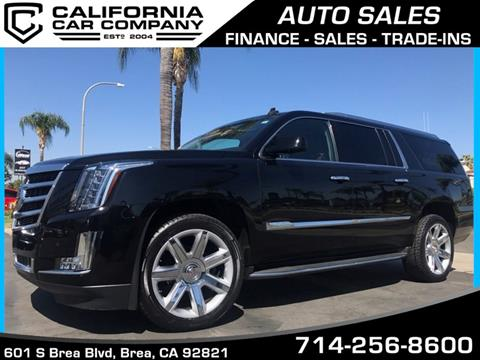 2015 Cadillac Escalade ESV for sale in Brea, CA