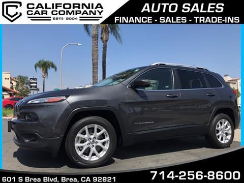 2015 Jeep Cherokee for sale in Brea, CA