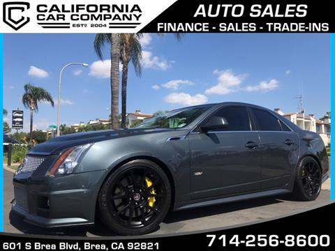 2011 Cadillac CTS-V for sale in Brea, CA