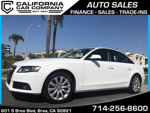 2011 Audi A4 for sale in Brea, CA