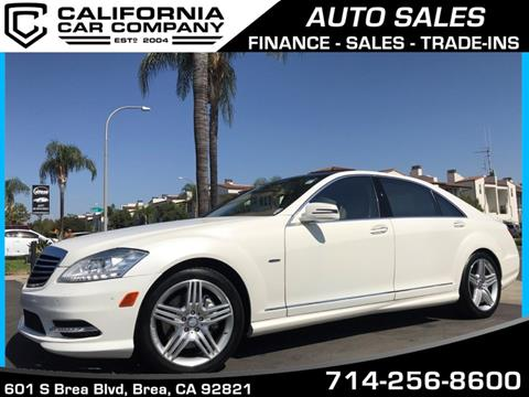 2012 Mercedes-Benz S-Class for sale in Brea, CA