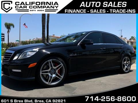 2013 Mercedes-Benz E-Class for sale in Brea, CA