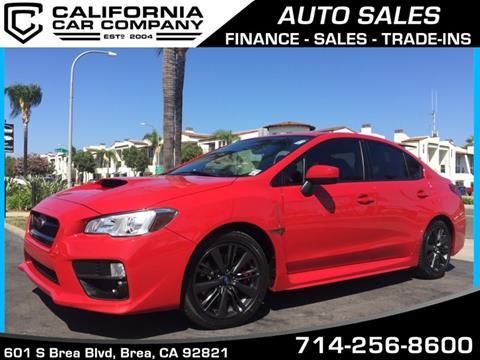 2015 Subaru WRX for sale in Brea, CA