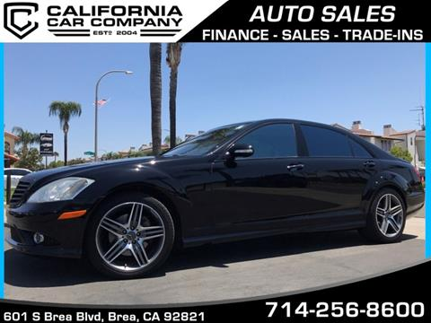 2008 Mercedes-Benz S-Class for sale in Brea, CA