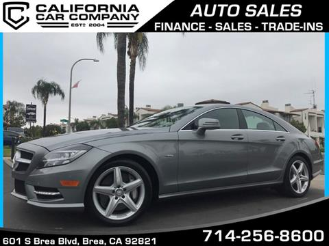 2012 Mercedes-Benz CLS for sale in Brea, CA