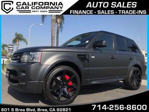 2011 Land Rover Range Rover Sport for sale in Brea, CA