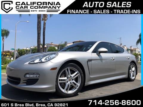 2011 Porsche Panamera for sale in Brea, CA