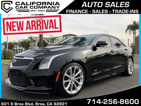 Cadillac Ats V For Sale In California Carsforsale Com