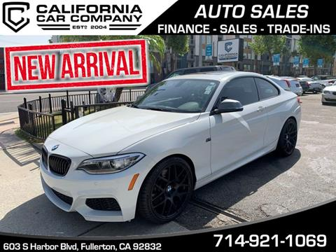 2015 BMW 2 Series for sale in Brea, CA