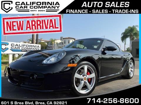 2008 Porsche Cayman for sale in Brea, CA
