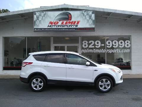 2014 Ford Escape for sale at NO LIMIT MOTORSPORTS in Belmont NC
