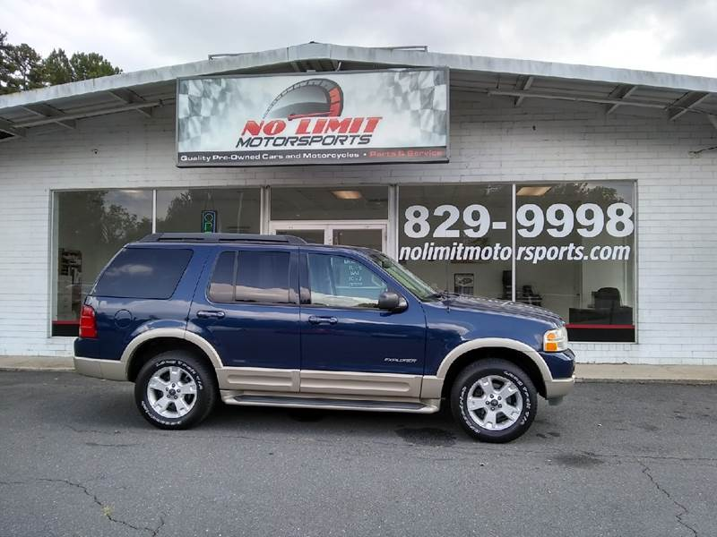 2005 Ford Explorer for sale at NO LIMIT MOTORSPORTS in Belmont NC