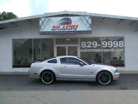2005 Ford Mustang for sale at NO LIMIT MOTORSPORTS in Belmont NC