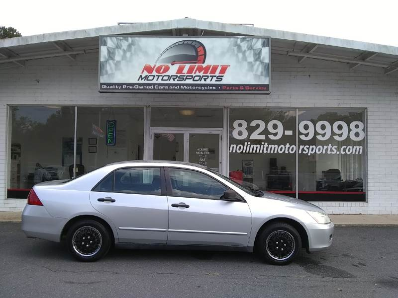 2006 Honda Accord for sale at NO LIMIT MOTORSPORTS in Belmont NC
