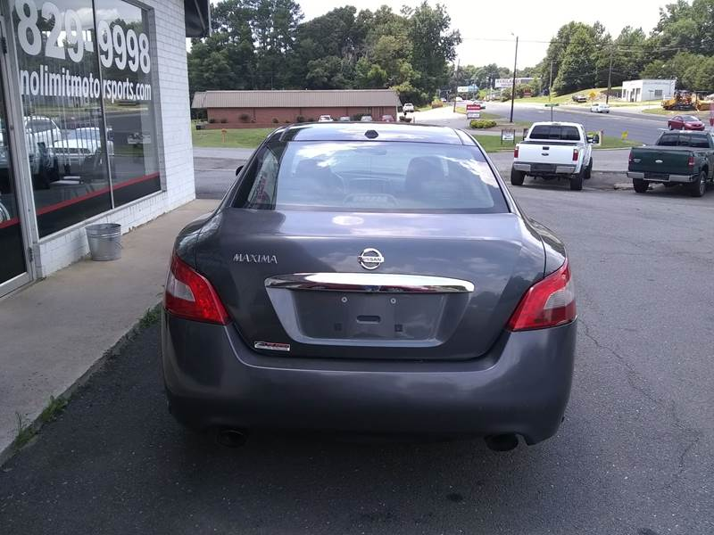 ... 2010 Nissan Maxima 3 5 SV 4dr Sedan In Belmont NC NO LIMIT MOTORSPORTS