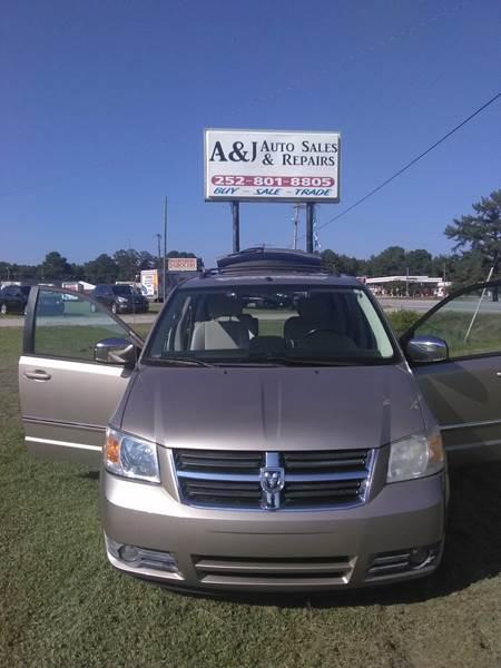 2008 Dodge Grand Caravan Sxt In Sharpsburg Nc A J Auto Sales Repairs