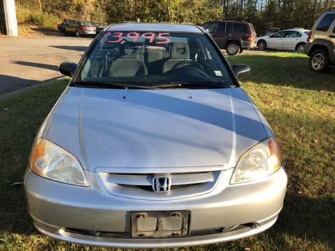 2001 Honda Civic for sale in Glenmont NY