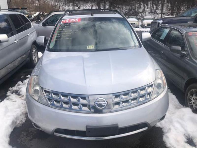 2006 Nissan Murano For Sale At Buffomatic Used Cars In Glenmont NY