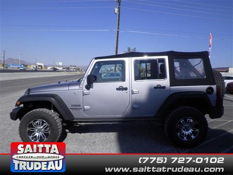 2014 Jeep Wrangler Unlimited for sale in Pahrump, NV