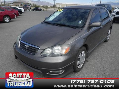 2006 Toyota Corolla for sale in Pahrump NV