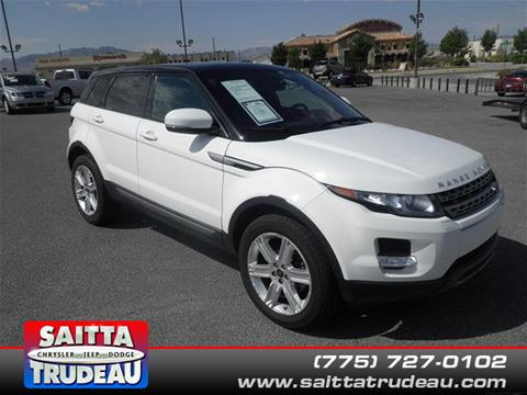 2013 Land Rover Range Rover Evoque for sale in Pahrump NV