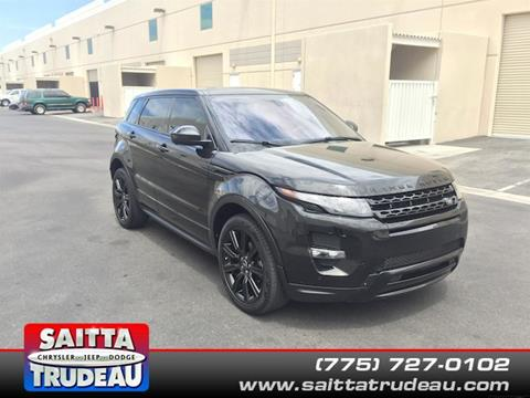2014 Land Rover Range Rover Evoque for sale in Pahrump NV