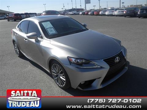 2014 Lexus IS 250 for sale in Pahrump, NV