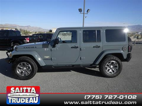 2015 Jeep Wrangler Unlimited for sale in Pahrump, NV