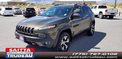 2015 Jeep Cherokee for sale in Pahrump, NV
