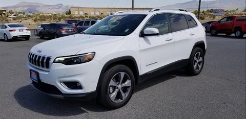 2019 Jeep Cherokee for sale in Pahrump, NV