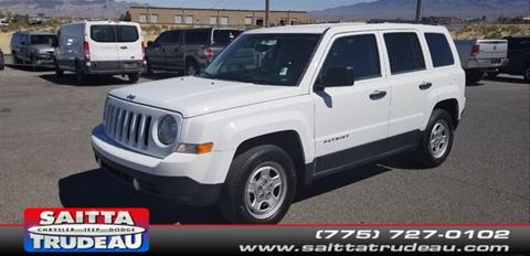 2014 Jeep Patriot for sale in Pahrump, NV