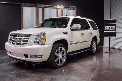 2007 Cadillac Escalade for sale at GT 44 Automotive in Arlington TX