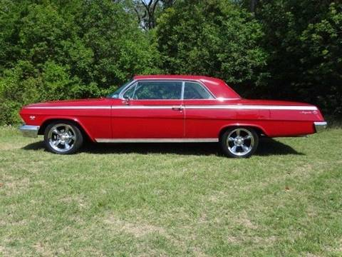 1962 Chevrolet Impala for sale at GT 44 Automotive in Arlington TX