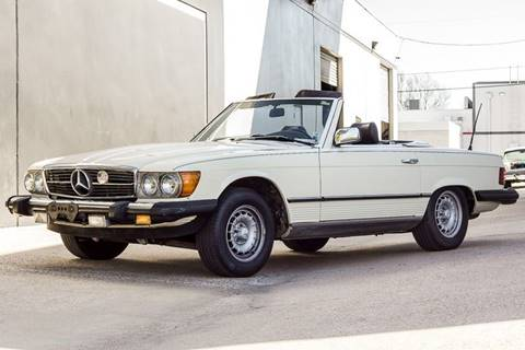 1984 Mercedes Benz 380 Class For Sale In Arlington, TX