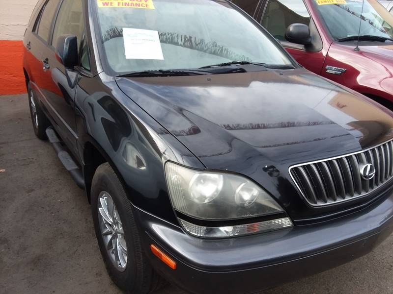 2000 Lexus RX 300 For Sale At Canelo Auto Sales In Ontario CA