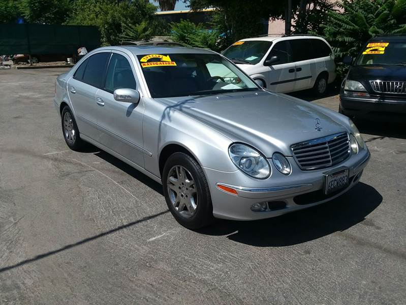 2004 Mercedes Benz E Class For Sale At Canelo Auto Sales In Ontario CA