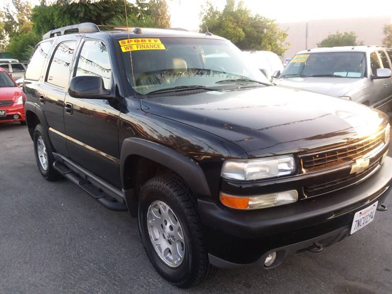 2005 Chevrolet Tahoe For Sale At Canelo Auto Sales In Ontario CA