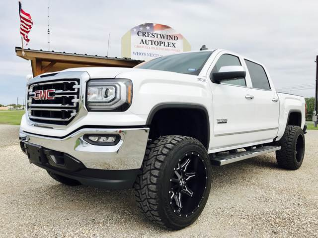 2017 gmc sierra 1500 slt in san antonio tx crestwind autoplex. Black Bedroom Furniture Sets. Home Design Ideas