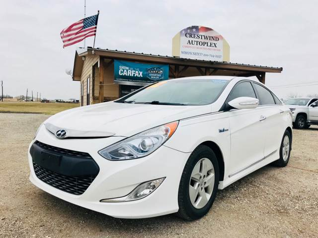 2012 Hyundai Sonata Hybrid For Sale At Crestwind Autoplex In San Antonio TX