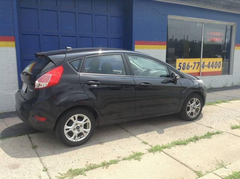 2014 Ford Fiesta for sale at Ode Auto Sales in Warren MI