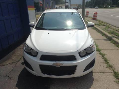 2014 Chevrolet Sonic for sale in Warren MI