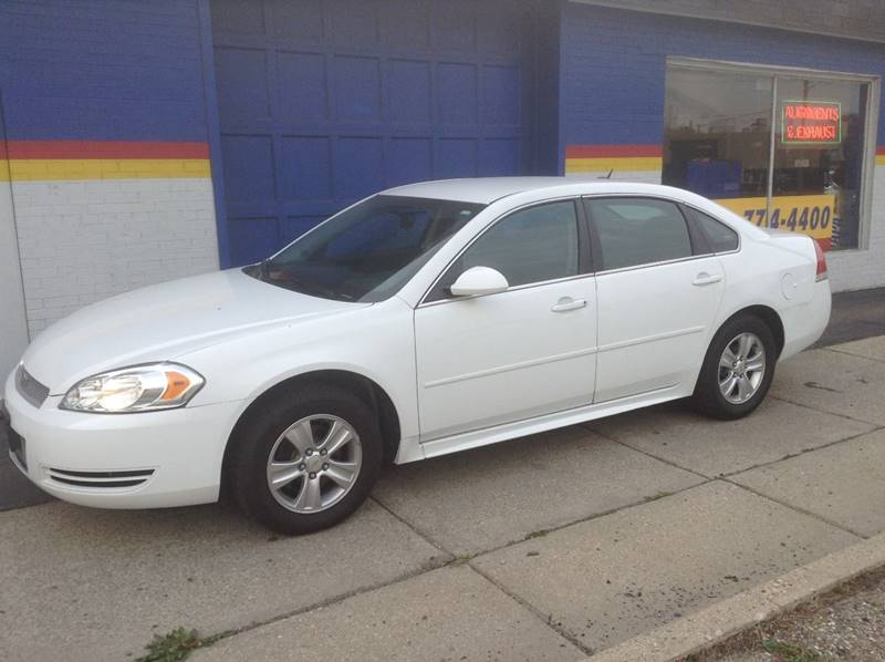 2014 Chevrolet Impala Limited for sale at Ode Auto Sales in Warren MI